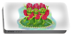 Vegas Frogs Showgirls Portable Battery Charger