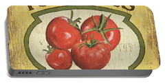 Veggie Seed Pack 3 Portable Battery Charger by Debbie DeWitt