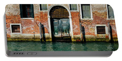Venetian House On Canal Portable Battery Charger