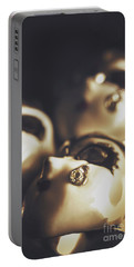 Venetian Masquerade Mask Rings Portable Battery Charger