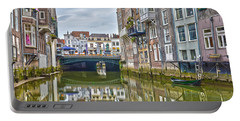 Portable Battery Charger featuring the photograph Venetian Vibe In Dordrecht by Frans Blok