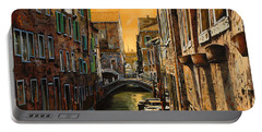 Venezia Al Tramonto Portable Battery Charger