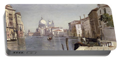 Venice - View Of Campo Della Carita Looking Towards The Dome Of The Salute Portable Battery Charger
