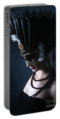 Portable Battery Charger featuring the photograph Venice Carnival Mask by Dimitar Hristov