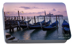 Portable Battery Charger featuring the photograph Venice Dawn II by Brian Jannsen