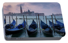 Portable Battery Charger featuring the photograph Venice Dawn IIi by Brian Jannsen