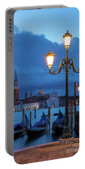 Portable Battery Charger featuring the photograph Venice Dawn V by Brian Jannsen