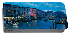 Portable Battery Charger featuring the photograph Venice Evening by Eric Tressler