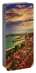 Venice From The Bell Tower Portable Battery Charger