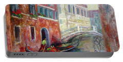Venice Gondola Ride Portable Battery Charger