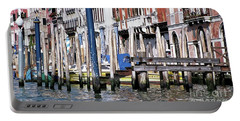 Portable Battery Charger featuring the photograph Venice Grand Canal by Allen Beatty