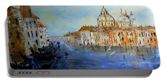 Venice Oil Sketch  Portable Battery Charger