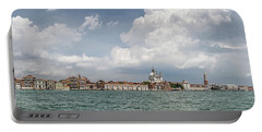 Venice Panorama From La Giudecca Portable Battery Charger