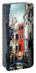 Portable Battery Charger featuring the photograph Venice Xx by Tom Prendergast