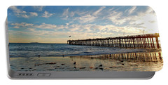 Ventura Pier At Sunset Portable Battery Charger
