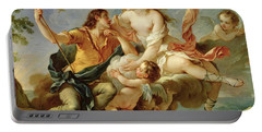 Venus And Adonis  Portable Battery Charger