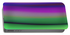 Verbena Stripe Portable Battery Charger