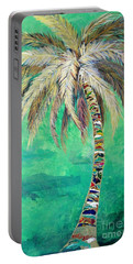 Verdant Palm Portable Battery Charger