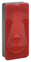 Vermillion Bear Portable Battery Charger