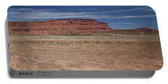Vermillion Cliffs Panorama Portable Battery Charger by Anne Rodkin