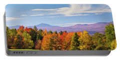 Vermont Autumn View Portable Battery Charger