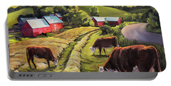 Vermont Going For The Green On Jenne Farm Portable Battery Charger
