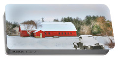 Vermont Memories Portable Battery Charger by Sharon Batdorf