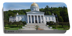 Vermont State House Portable Battery Charger
