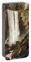 Vernal Falls And Hiker - Yosemite Portable Battery Charger