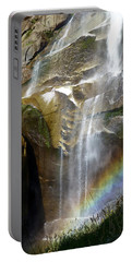 Vernal Falls Rainbow And Plants Portable Battery Charger