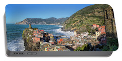 Vernazza In Cinque Terre Portable Battery Charger