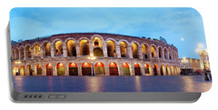 Portable Battery Charger featuring the photograph Verona Arena by Fabrizio Troiani