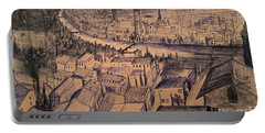 Verona Birdview Drawing Portable Battery Charger
