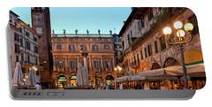 Verona - Piazza Delle Erbe Portable Battery Charger