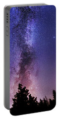 Vertical Milky Way Portable Battery Charger