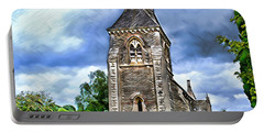 Very Old Church Portable Battery Charger by Pennie  McCracken
