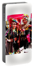 Very Proud Bolivian Dancers Portable Battery Charger