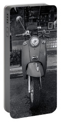 Portable Battery Charger featuring the photograph Vespa by Sebastian Musial