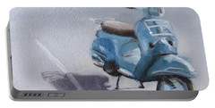 Vespa Shadows Portable Battery Charger