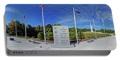 Veterans Freedom Park, Cary Nc. Portable Battery Charger by George Randy Bass