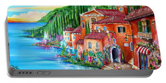 Via Positano By The Lake Portable Battery Charger