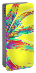 Vibrant Fascination  Portable Battery Charger by Rachel Hannah