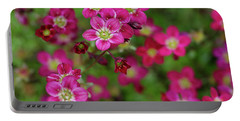 Vibrant Floral Portable Battery Charger