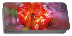 Vibrant Rose Portable Battery Charger