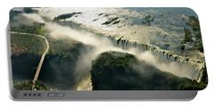 Vic Falls And The Zambezi River Portable Battery Charger