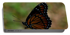 Viceroy Butterfly Portable Battery Charger by Donna Brown