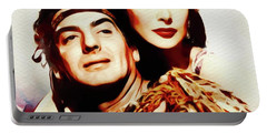 Victor Mature And Hedy Lamarr Portable Battery Charger