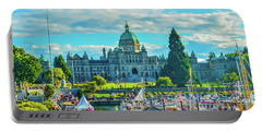 Victoria Bc Parliament Harbor Portable Battery Charger
