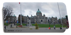 Victoria British Columbia Parliament Building Portable Battery Charger