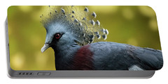 Victoria Crowned Pigeon Portable Battery Charger
